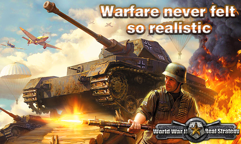 World War II: Real Strategy- screenshot