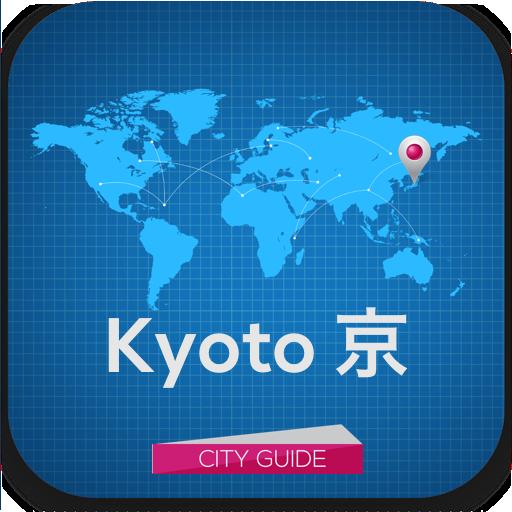 京都ガイド、ホテル、天気、イベント、マップ 旅遊 App LOGO-APP試玩