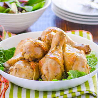 Simple Baked Dijon Chicken