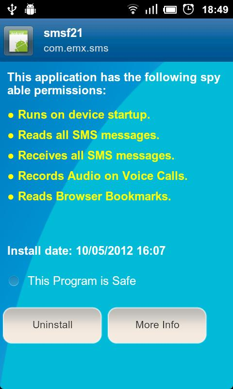 Anti Spy Mobile PRO - screenshot