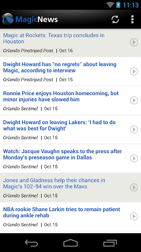 Orlando Basketball News for PC