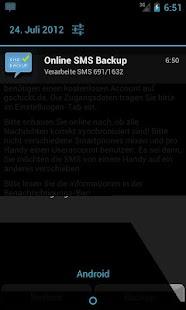 SMS Backup & Restore Online - screenshot thumbnail