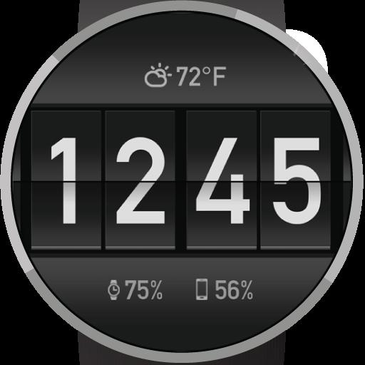 Flip Clock Watch Face LOGO-APP點子