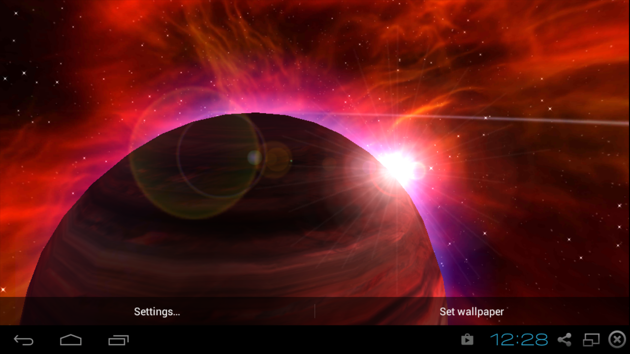 sun and planets 3d - photo #34