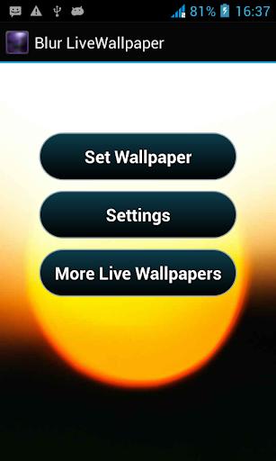 Blur Live Wallpaper