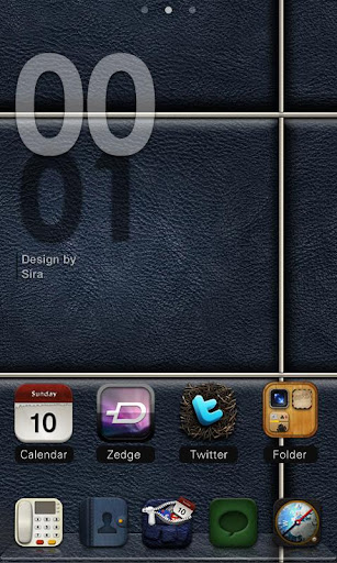 Sira GO Locker Theme v1.0