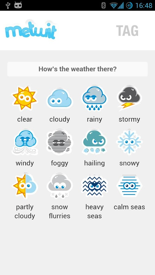 Metwit Social Weather Forecast- screenshot