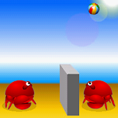 volleyball crabs
