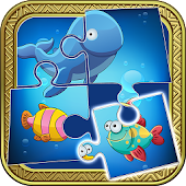 Sea Animals Puzzle For Kids