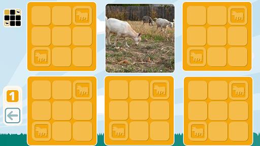 Free Farm Animals Match Game