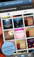 Screenshot of InstaMessage - Post messages