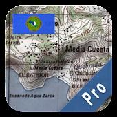 Central America Topo Maps Pro
