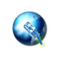 Internet speed converter logo