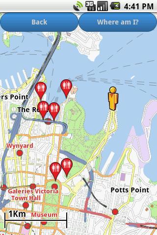 Sydney Amenities Map