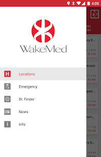 WakeMed- screenshot thumbnail