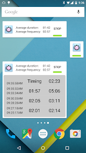 Contraction Timer Screenshot 7