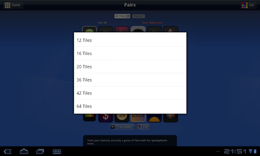 Pairs- screenshot thumbnail