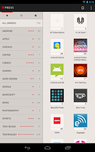 Press (RSS Reader) - screenshot thumbnail