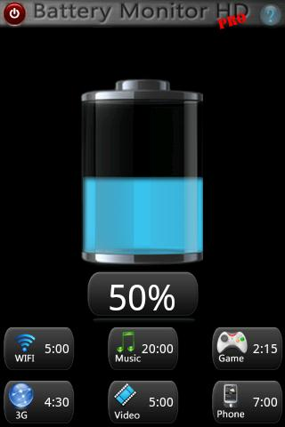 Battery Monitor HD PRO- screenshot