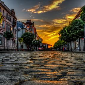 by Cornelius D - City,  Street & Park  Street Scenes
