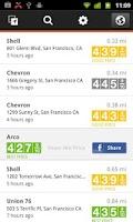 Screenshot of Gas Guru: Cheap gas prices
