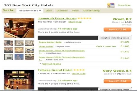 Cheap Hotels - Compare Hotels- screenshot thumbnail