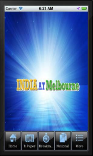 India At Melbourne