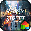 Rainy street dodol theme icon