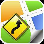 California, USA GPS Navigation