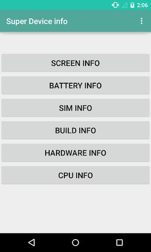 Super Device Info