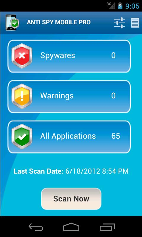 Anti Spy Mobile PRO Screenshot 0