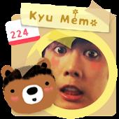 Kyumo: Kyu Jong Memo Widget