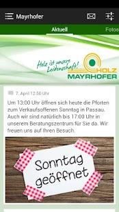 Holz Mayrhofer GmbH - screenshot thumbnail