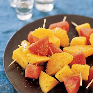 Tequila-Soaked Fruit.