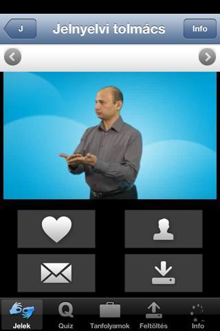Hallatlan jelnyelvi szótár II. - screenshot