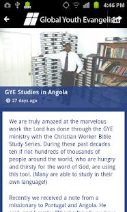 Global Youth Evangelism- screenshot thumbnail