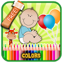 Kids Learn Color Free icon