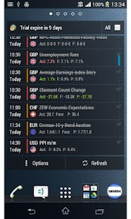 Forex Calendar Notifier PRO 4 - screenshot thumbnail