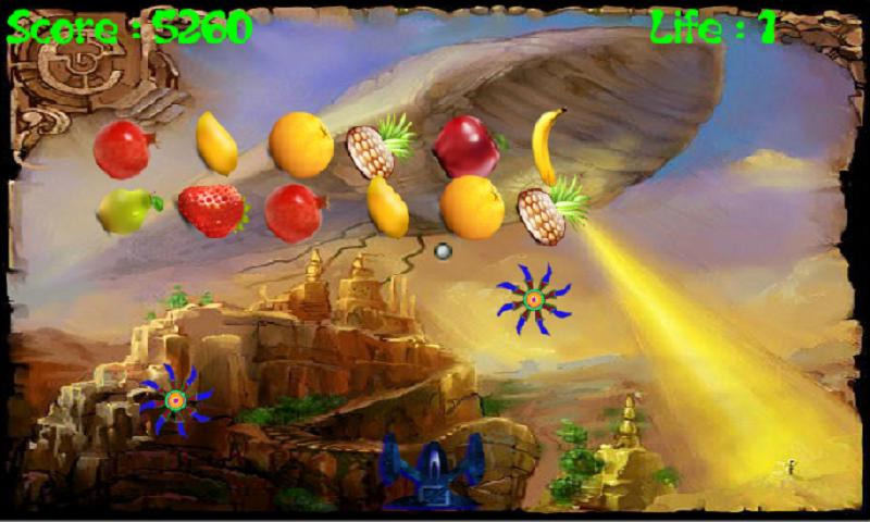 Angry Fruits Attack- screenshot