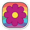 Twisted Flowers Live Wallpaper icon