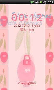 Cherries Theme for GO Locker- screenshot thumbnail