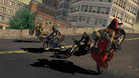 Race Stunt Fight 3!    ★FREE★ Screenshot 2