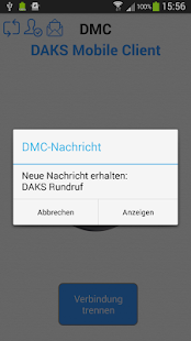 DMC - DAKS Mobile Client – Miniaturansicht des Screenshots