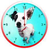 Cute Dogs Clock