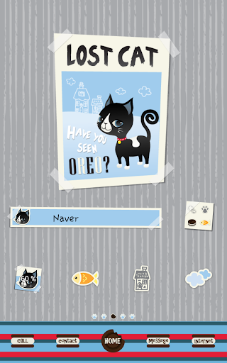 玩個人化App|lost cat 도돌런처 테마免費|APP試玩