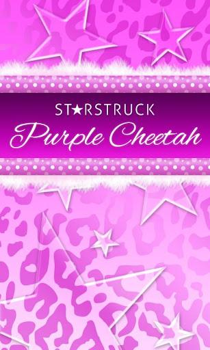 Polka Dots Purple Leopard SMS★