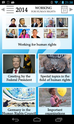 Working for human rights 2014