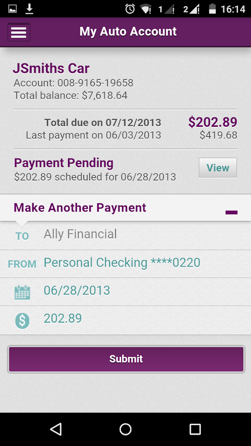 Ally Financial Payoff >> Ally Auto Mobile Pay - Android Apps on Google Play