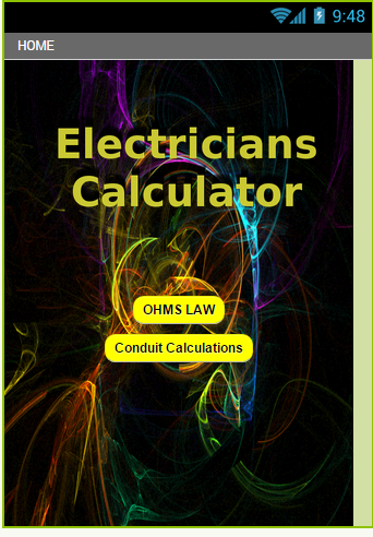 The Electricians Calculator
