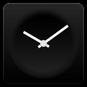 Modern clock widget B-Me Clock